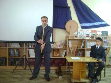 Литературно-музыкальная встреча «Мелодия седого Урала»