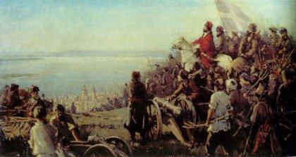 Крестьянское восстание под предводительством Емельяна Пугачева
